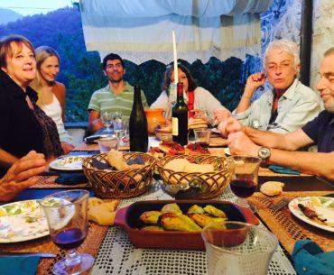 Cena con amici Molini di Triora