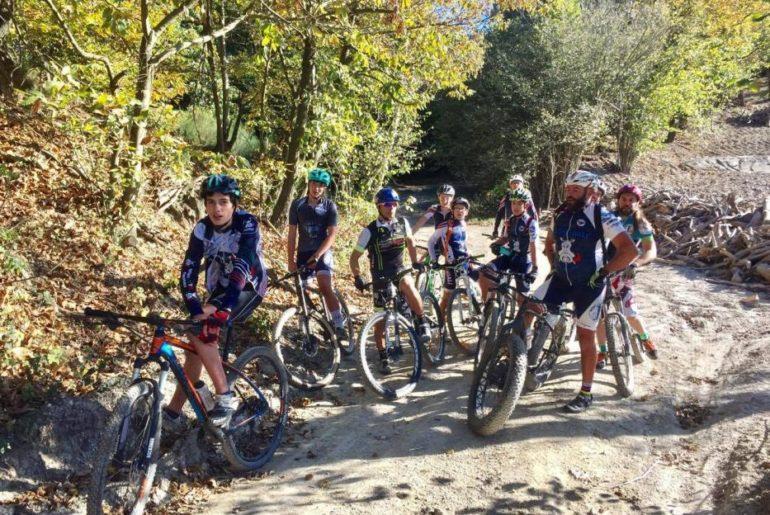 """Un gruppo di virtuosi amanti della bicicletta, si chiamano """"I Cinghiali"""" di Novi Ligure"""