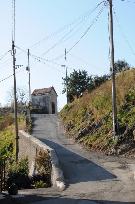 Via Rivassa: la Cappella di Nostra Signora della Guardia