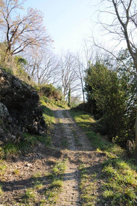 Via Rivassa, creuza