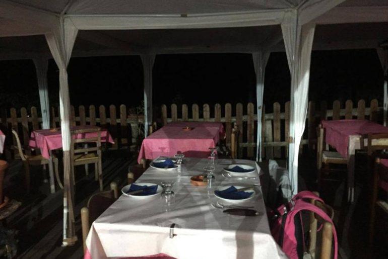 La veranda dell'Osteria la Gallina