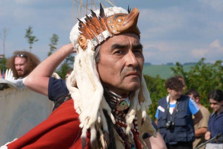 Casa del Romano, festa della madre Terra, con i nativi americani. © Alberto Bassi