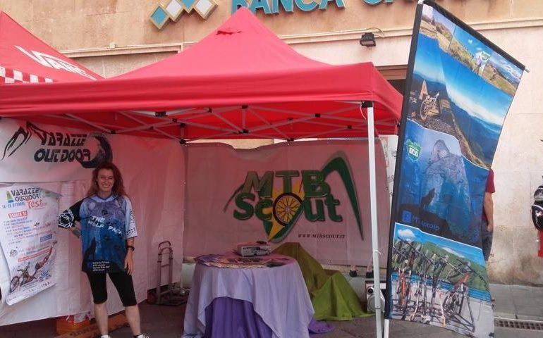 Francesca a Finale Ligure, al Flow Festival, evento dedicato agli sport outdoor