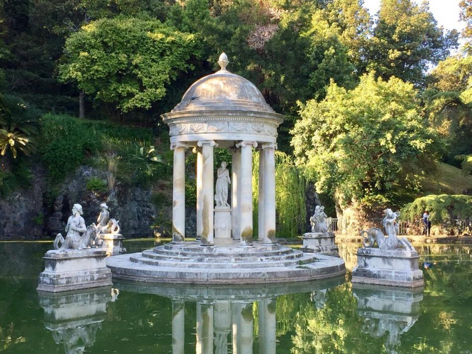 Il tempio di Diana, l'immagine più consueta e scontata di Parco Pallavini, ma non per questo meno bella