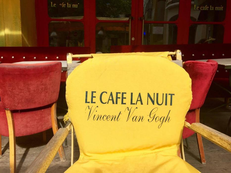Una sedia del Caffè