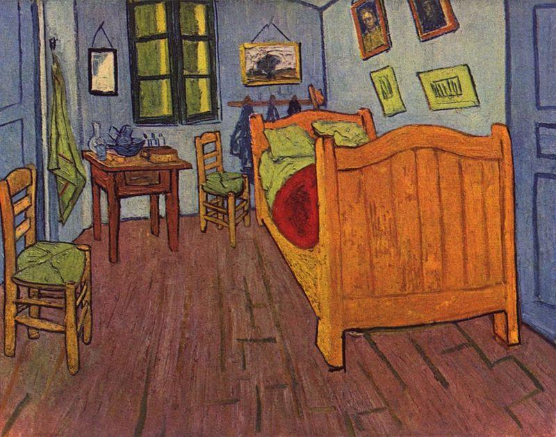 Van Gogh, la sua famosissima camera ad Arles