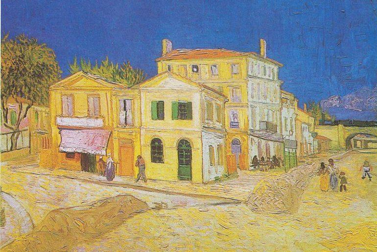 Van Gogh, la casa gialla dove abitò insieme a Paul Gauguin