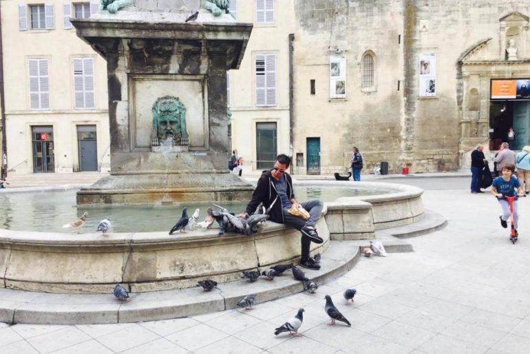 Fontana in Piazza della Repubblica, Arles