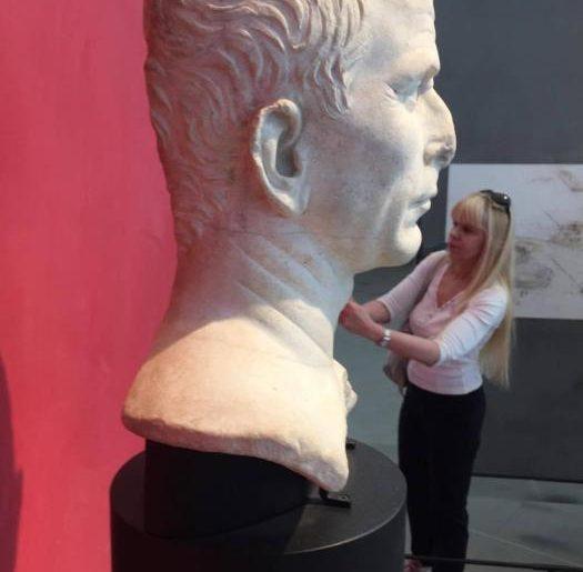La presunta testa di Cesare