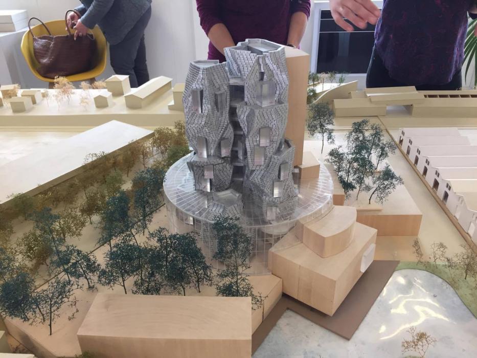 Fondazione Luma, il progetto del grattacielo di Frank Ghery