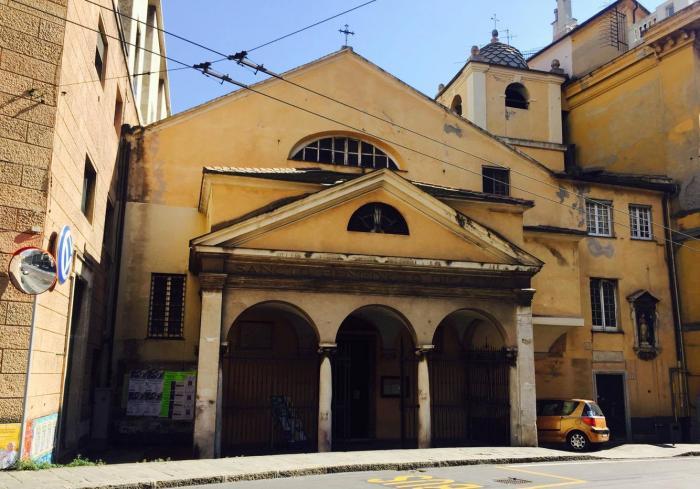 Chiesa di San Benedetto, dove ha sede anche la comunità fondata da Don Gallo