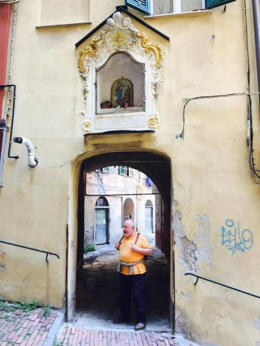 Pier Guido Quartero in Salita degli Angeli