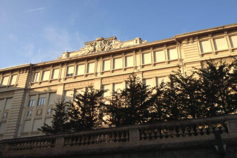 Sanremo, scuole di Via Volta