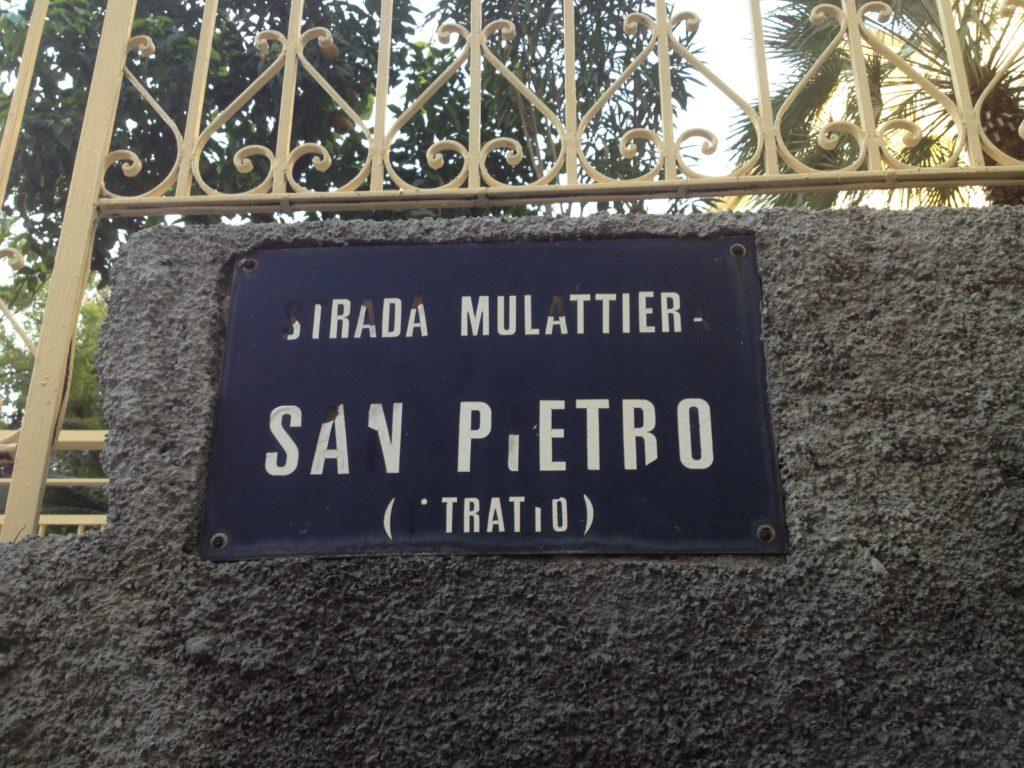 Mulattiera San Pietro