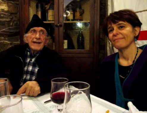 Don Gallo e Laura Guglielmi