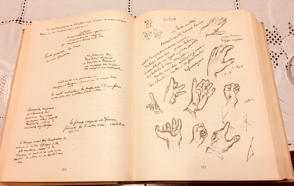 I cahiers di Paul Valery.