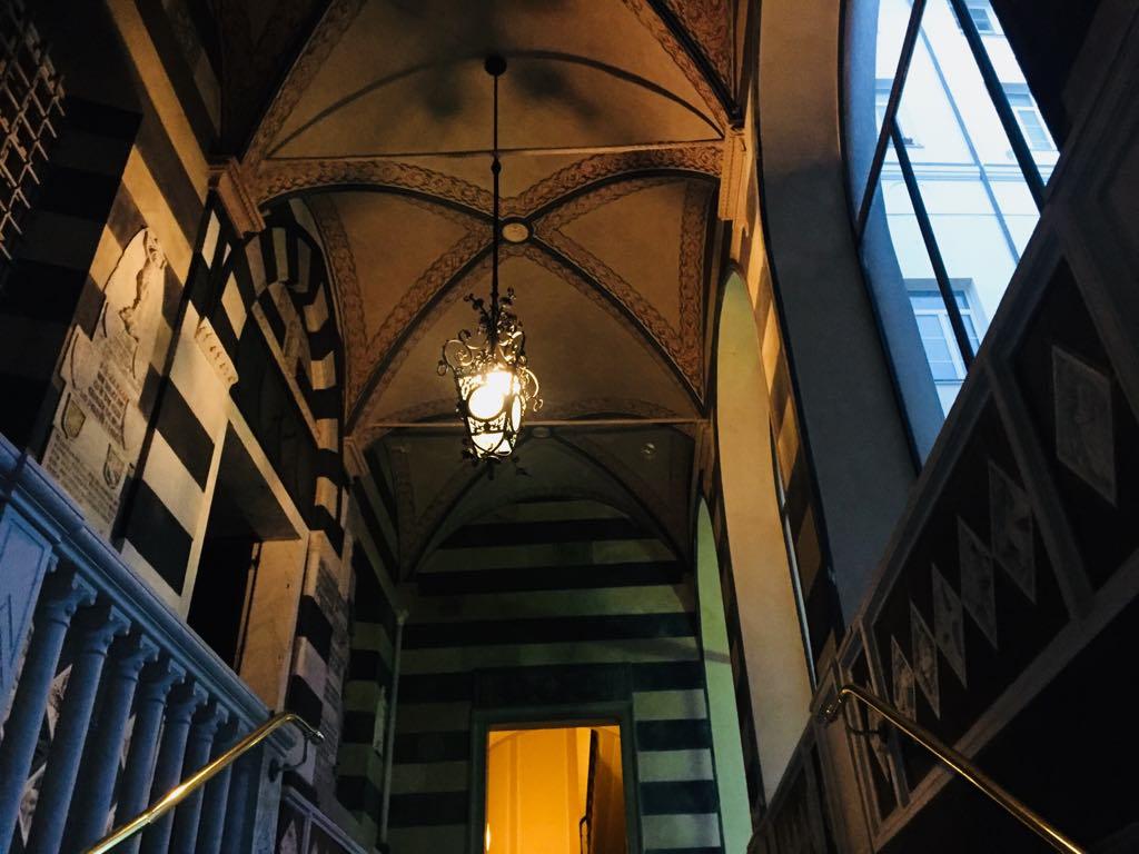 Palazzo Montanaro. L'entrata