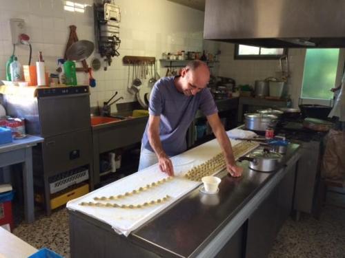 La cucina dell'Agriturismo il Rifugio