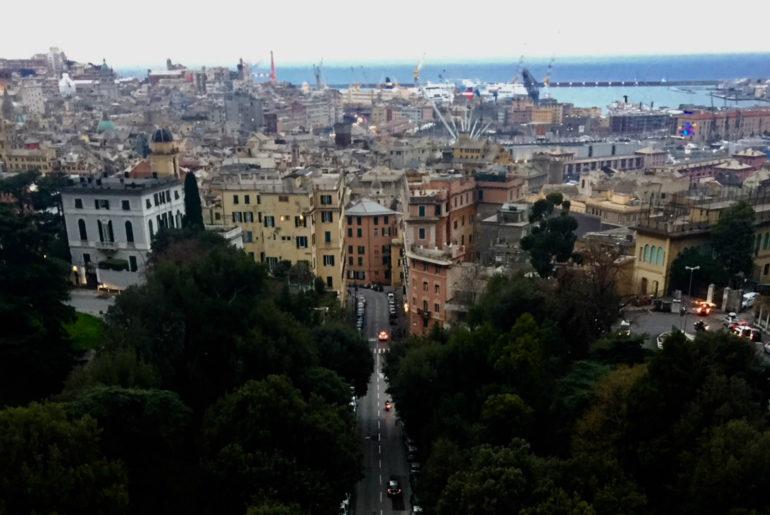 Panorama sulla città.