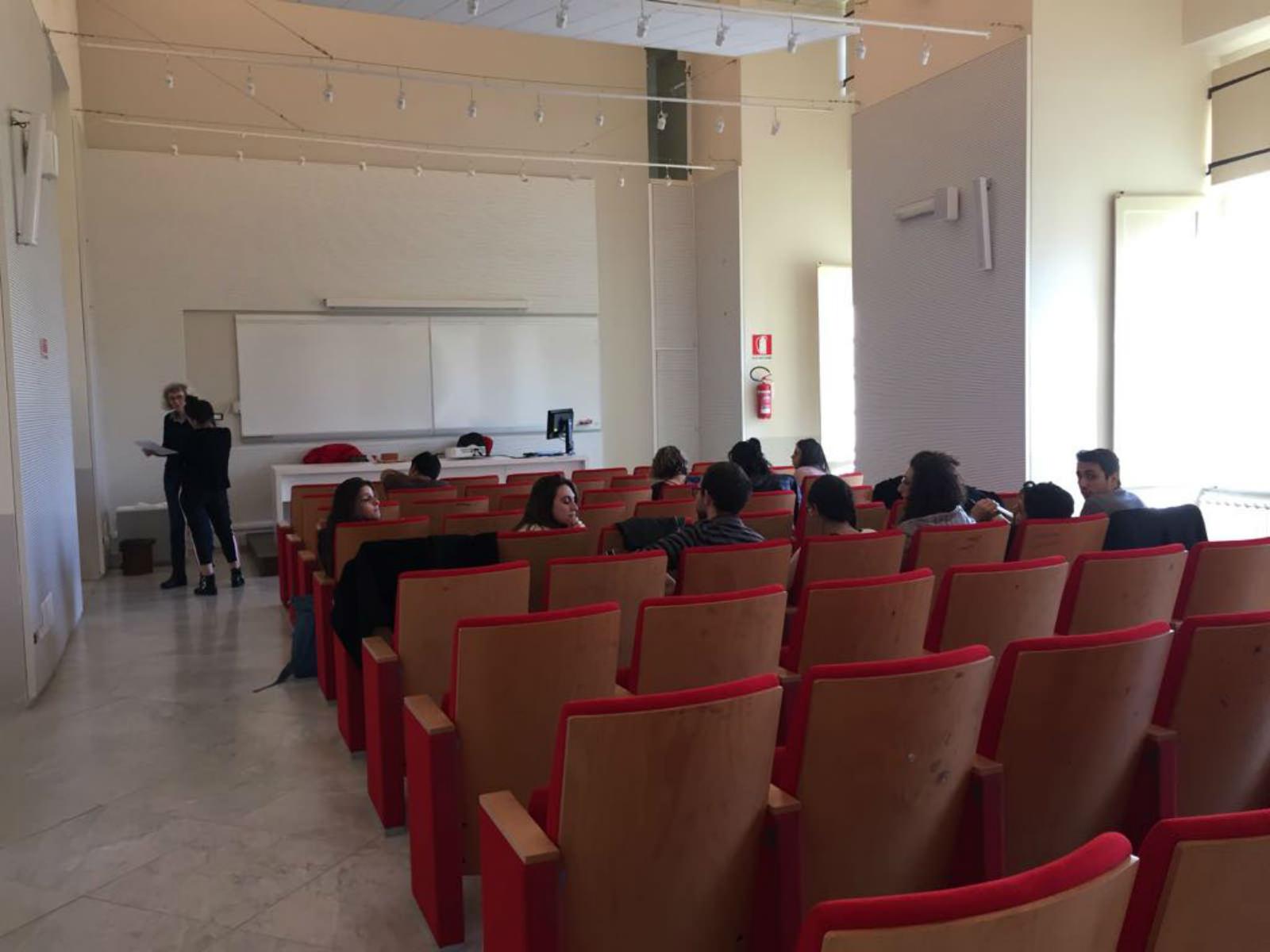 Un'aula.