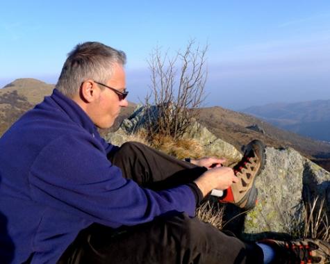 In cima al Monte Sciguelo