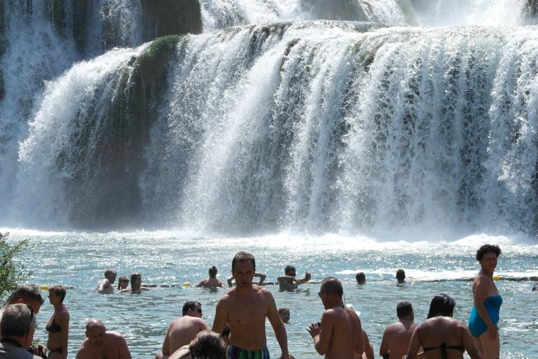 cascata Krka Croazia.