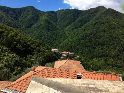 Ubaghetta: il panorama dal terrazzo di Stefani, oggi