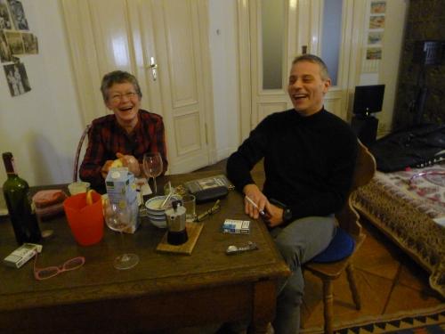 Febbraio 2012: nella casa di Berlino di Stefani