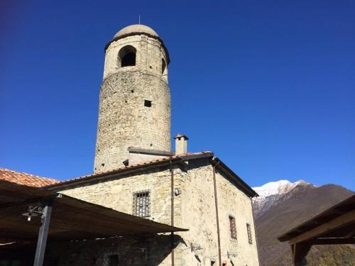 L'antico monastero in Lunigiana, oggi sede dell'agriturismo Montagna Verde