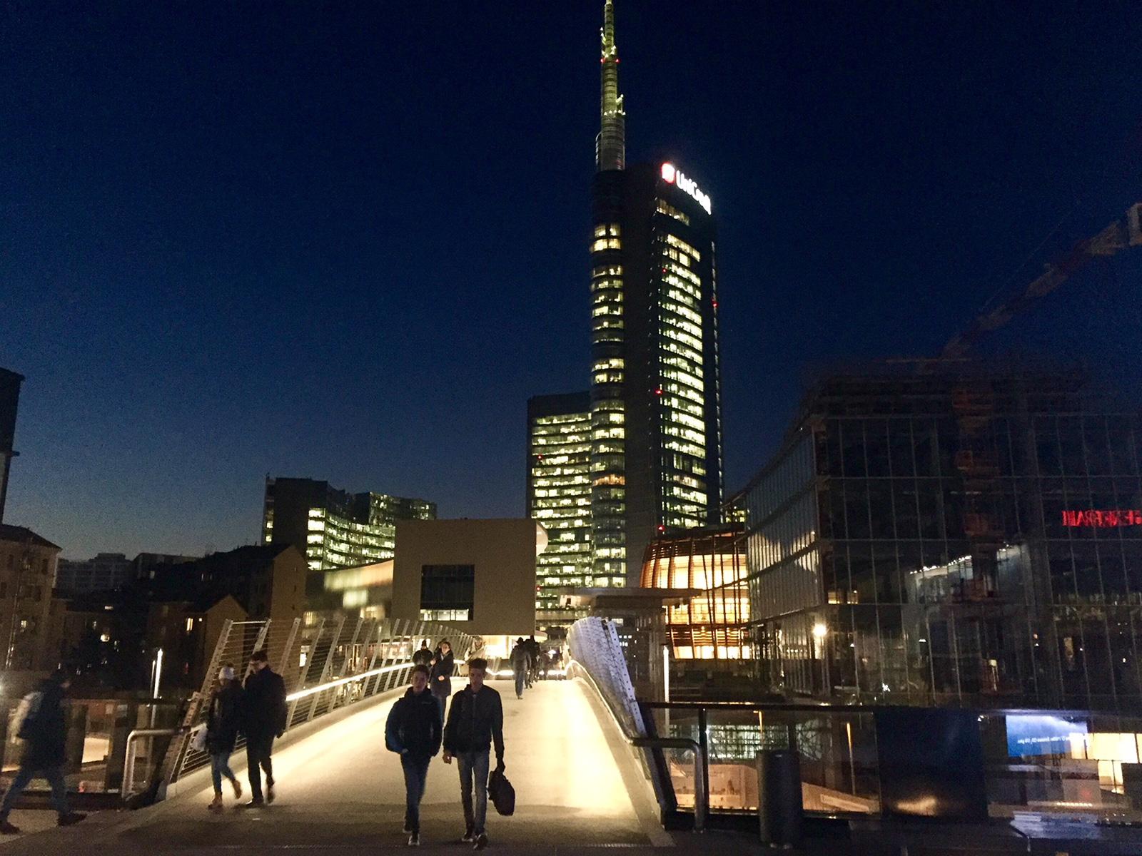 Da Piazza Gae Aulenti alla Fondazione Feltrinelli, Milano capitale europea