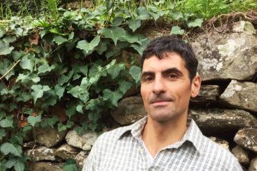 Giacomo Revelli nella sua campagna
