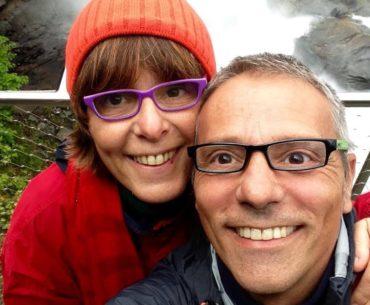 Cesare Viel e Laura Guglielmi