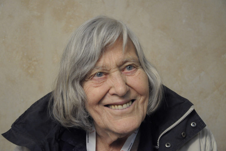 Margherita Hack nel 2011