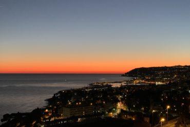 Sanremo al tramonto