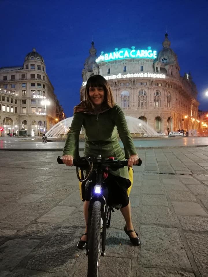 bici a Genova
