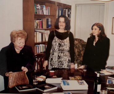 Esther Calvino, Laura Guglielmi e Giovanna calvino