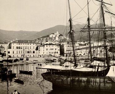 Il porto di Sanremo agli inizi del Novecento